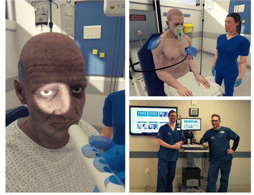 University of New England Delivers Cutting Edge Virtual Reality Nursing Education with Oxford Medical Simulation